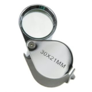 21mm Jewellers Jewelry Loupe Magnifier Eye Magnifying Glass