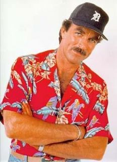 Magnum P I Exclusive Replica Cap or Hat Detroit Tigers