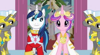 My Little Pony Friendship Is Magic Princess Wedding Castle Cadence