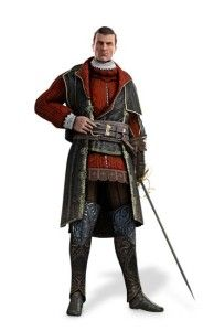 Gamestars Assassins Creed 1 18 Scale Action Figure Machiavelli