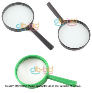 Reading 5X Magnifier Hand Held Magnifying Glass 1 75mm