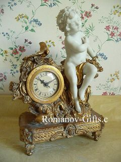 Maitland Smith Urns Vases French Cherub Statue Clock