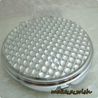 Crystal Case Compact Mirror Make Up Gift Portable Cosmetic Pocket