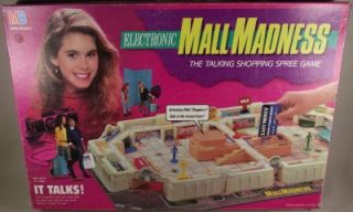 Mall Madness Talking Shopping Game 1989 100 Complete