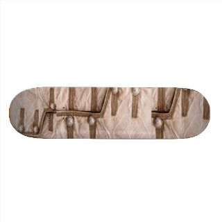 NOVINO Royal Regal Silk Patchwork Skate Deck