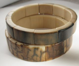 Mammoth Stretch Bangle Bracelet 12mm Wide