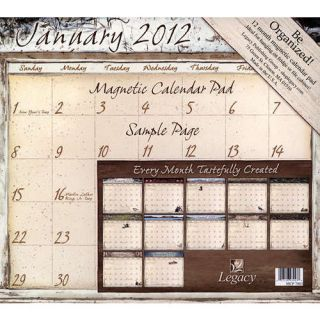 Life Itself 2012 Magnetic Mount Wall Calendar