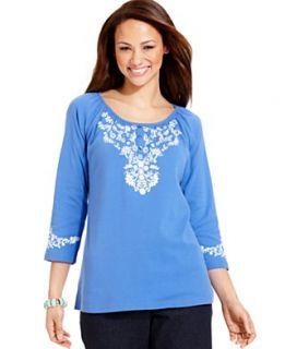 Karen Scott Clothing   Tops, Pants, Sweaters, Shorts & More