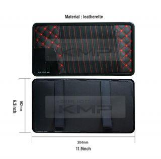Car Truck Auto Interior Sun Visor CD DVD Leatherette Case Holder 11