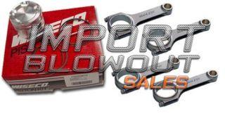 Wiseco Pistons Manley Rods Subaru WRX STI EJ20 EJ25