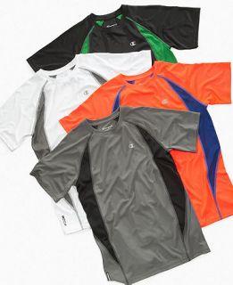 Champion Kids T Shirt, Boys Colorblock Tee   Kids Boys 8 20