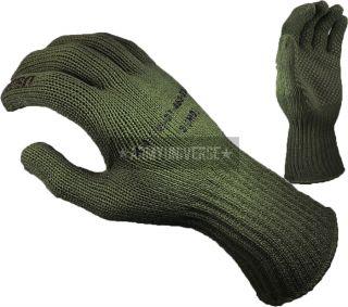 Olive Drab Manzella USMC TS 40 Genuine Military Gloves