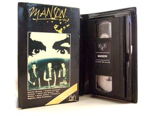Manson 1973 VHS Hard to Find in Its Original Big Box