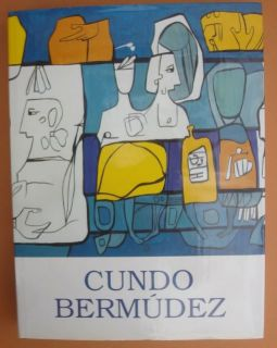 Original Cundo Bermudez Book 326 Pages Cuban Art Paintings Biography $
