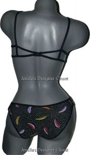 NWT MANUEL CANOVAS bikini swimsuit designer T1 4/6 US luxe high end