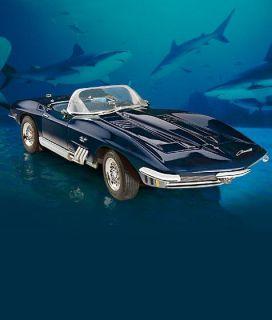 Franklin Mint Mako Shark Corvette with A Free Display Case