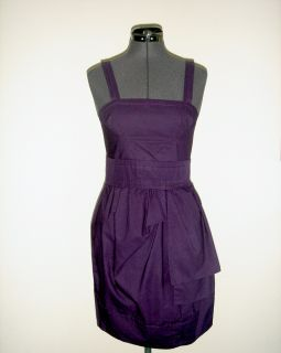 Marc by Marc Jacobs Purple Aubergine Fall Origami Tulip Dress 0 2 XS