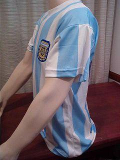 Size XL Diego MARADONA 86 Mexico 1986 Argentina Jersey 10