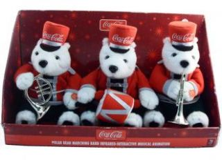 Coca Cola Polar Bear Marching Band Infrared Interactive Musical Coke