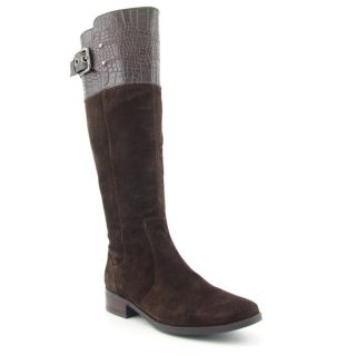 Marc Fisher Agnes Womens Sz 8 5 Brown Multi Boots Knee Shoes