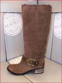 New Marc New York by Andrew Marc Sabrina Leather Boots for Women Size