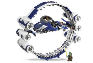 LEGO7661 Star Wars Jedi Starfighter with Hyperdrive Booster Ring New