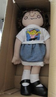 NIB Dennis The Menace Margaret Doll Someday a Woman will Run for