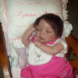 OOAK Doll Bella Kit by Pat Moulton Maria Newborn TykaemS