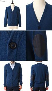NW Maison Martin Margiela 14 Cardigan S30HA0538 Blue Black Wool Season