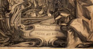 Peter Paul Rubens Marie de Medici Queen 0f Arts Engraving 1708