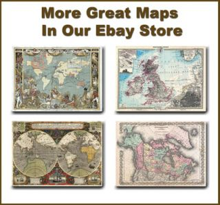 MP21 Vintage Historical 1720 Nautical Chart World Map Poster Print A1