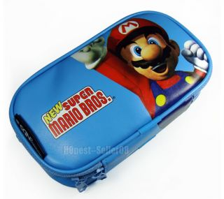 Mario Carry Case Bag Pouch for Nintendo NDS NDSi DS Lite DSi Game