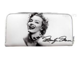 Marilyn Monroe Signature Credit Card Money Case ID Holder Travel