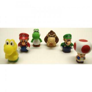 Super Mario Brothers 6 Piece Bath Play Set w Mario Luigi Koopa Troopa