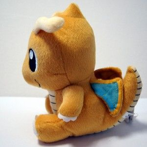 Pokemon Dragonite Plush Soft Stuffed Toy Pokedoll Plushie