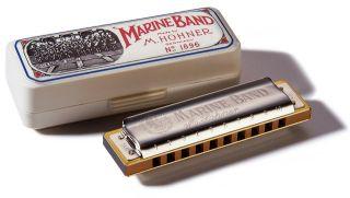 Hohner Marine Band 1896 Classic Harmonica Key of AB