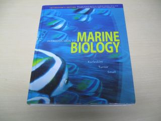 Introduction to Marine Biology 3rd Edition Third George Karleskint