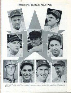3034. 1943 Baseball All Star Game Program at Shibe Park, Philadelphia