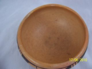 Native American Indian Hopi Pottery Bowl Early 1900s