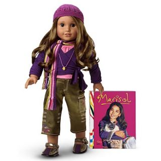 You are bidding on a New in the box American Girl Doll Marisol in her