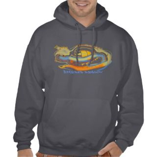 grey bearded dragon hoodie sweatshirt