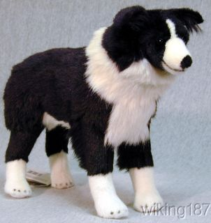 Kosen Made in Germany New Border Collie Dog Plush Toy
