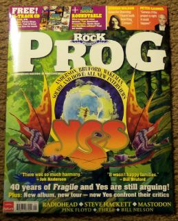 CLASSIC ROCK PROG Free CD YES 40 Years Of FRAGILE # 20 MASTODON King