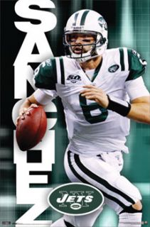 Mark Sanchez Roll Out New York Jets NFL 2010 Poster
