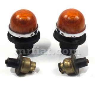 This is a new side marker lights set for Alfa Romeo 2600 Spider models