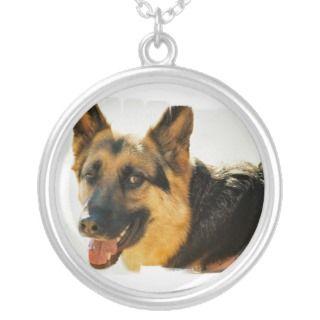 German Shepherd Dog Photo Necklace
