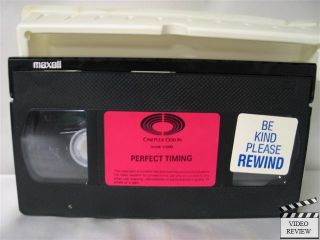 Perfect Timing VHS Stephen Markle Michelle Scarabelli