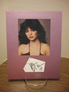 Valerie Bertinelli Autograph Young Sexy Display Signed Signature COA