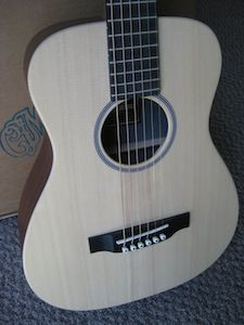 New EZ Play Modified Martin Acoustic Guitar w Case Strings