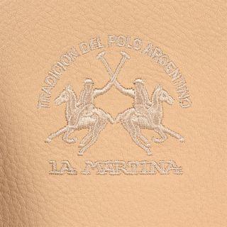 La Martina Woman Shoulder Bag Constitution Genuine Leather New 2012